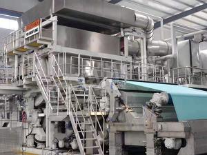 800米新月型卫生纸机