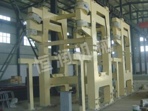 Large roll diameter press