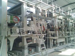 3,600-350 tristack net hanging surface box board paper machine