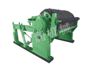 Horizontal pneumatic paper reel