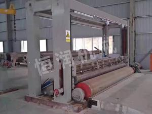Frame rewinding machine