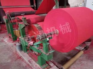 Firecrackers paper machine